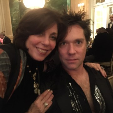 Susan Gonzalez with Rufus Wainwright