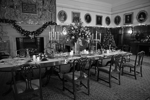 SGP_9415 Susan Guy_Hardwick Hall_Christmas BW w