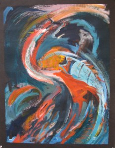 Judy Lomba's painting