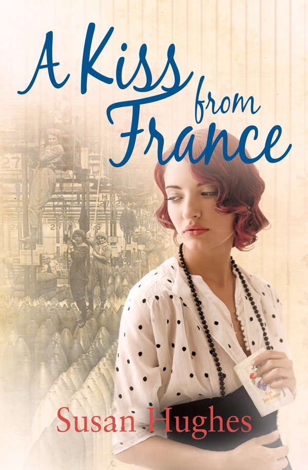 A Kiss from France WW1 novel cover
