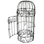 Illustration of a Victorian birdcage