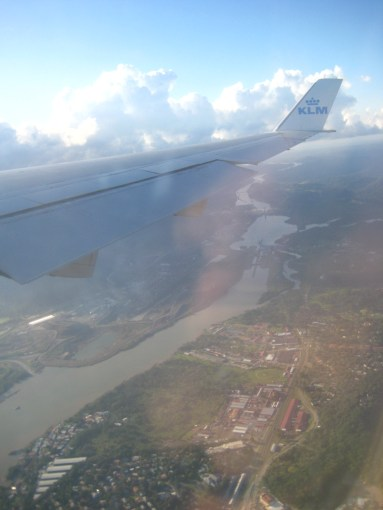 landing Panama