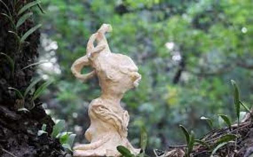ophelia forest sculpture