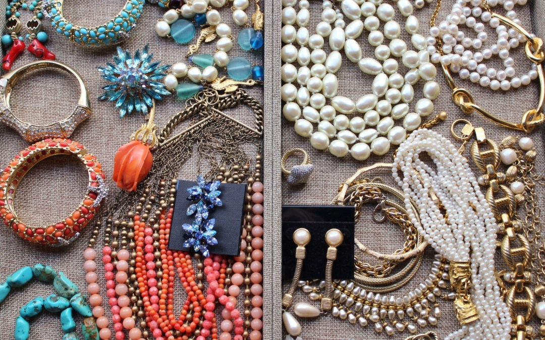 Jewelry Organizing: Why I Like Stackable Trays for Organizing Jewelry