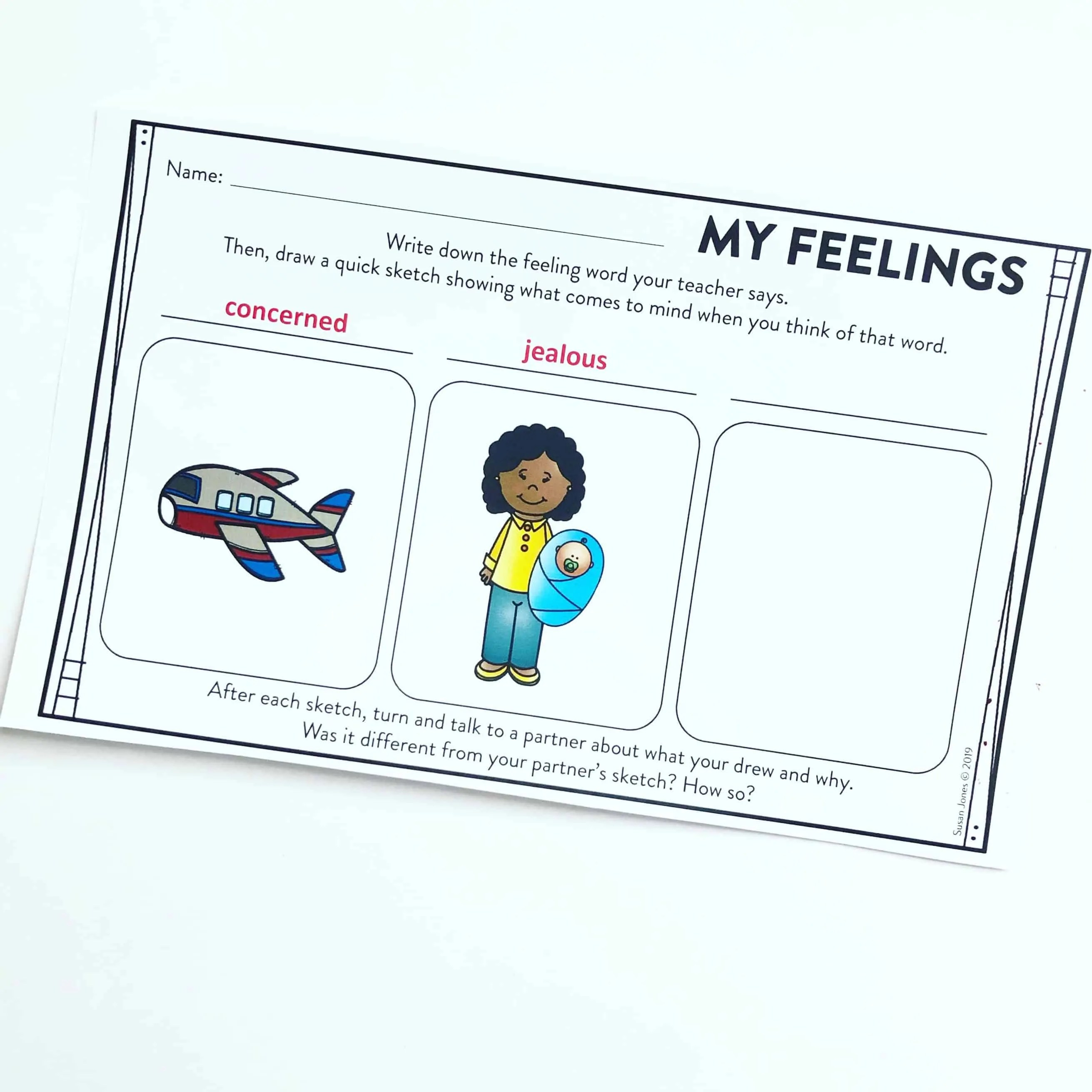 Visualizing Activities For First Grade
