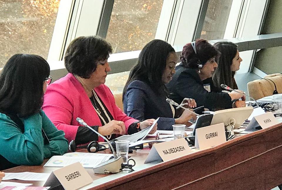 Senator Kihika attends the World Forum for Democracy