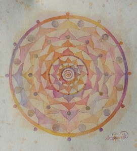 Connect to Spirit Mandala Painting