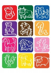 14643996-a-vector-illustration-of-chinese-zodiac-signs