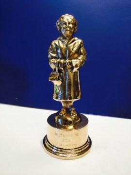 Oscar auntie first prize mappie gala 2016