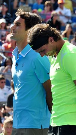 Fed Up with Wimbledon - Roger_Federer_&_Rafael_Nadal (pic Nick Step)