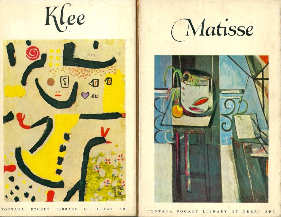 Klee and Matisse, The Fontana Pocket Library of Great Art