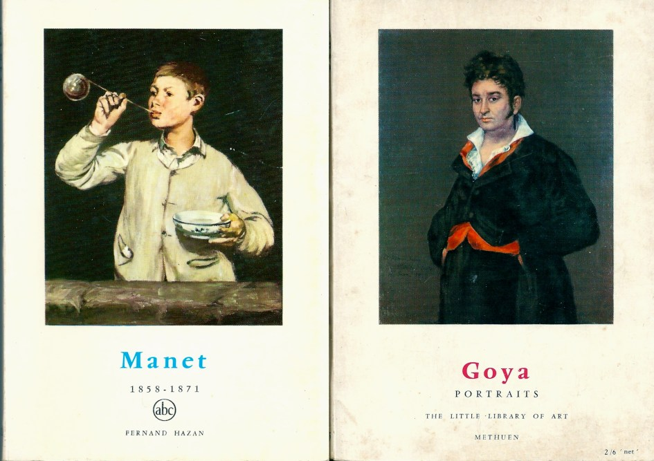 Manet and Goya, The Little Library of Art