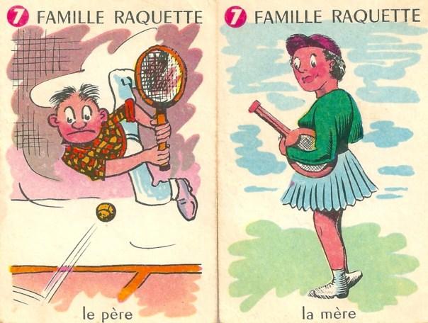 Familles Champions, Famille Raquette