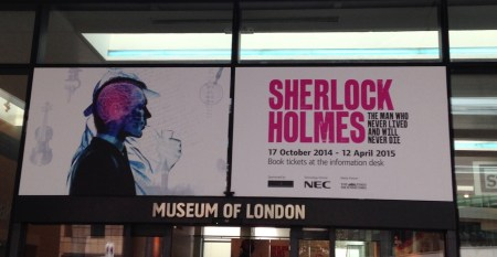 Sherlock Holmes Exhibition at the Museum of London