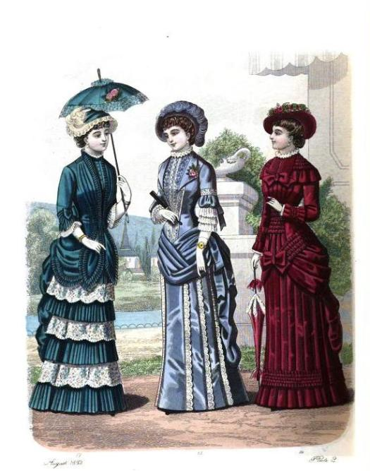 The London and Paris Ladies' Magazine of Fashion. 1881.
