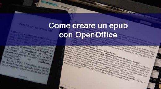 Come creare un ePub con OpenOffice in pochi semplici passi