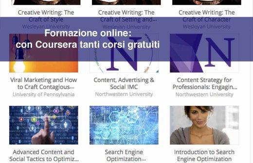 Formazione online: con Coursera tanti corsi gratuiti