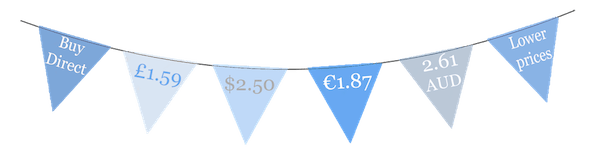 currency bunting