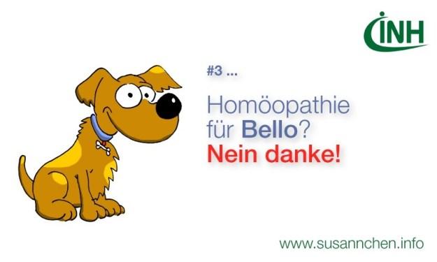 Keine Pseudomedizin für Tiere!