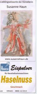 www.hansaeis.de - Susanne Hauns Lieblingseissorte   - Aquarell Eisfee