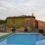 Unser Haus in der Toskana mit Swimmingpool - Foto von Conny Niehoff