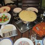 Ich war dran mit Kochen und es gibt Spagetti - Foto von Conny Niehoff