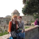 Conny Niehoff und ich vor Volterra - Foto von Andreas Mattern