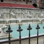 Brunnen in Siena am Piazza del Campo - Foto von Conny Niehoff