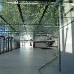 Treppenhaus im Schumacher Museum auf die Seite gelegt - Foto von Susanne Haun