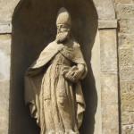 Bischoffsskulpture in Kirche in Volterra - Foto von Susanne Haun