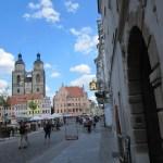 Vor dem Tor zur Werkstatt Cranachs - Foto von Susanne Haun