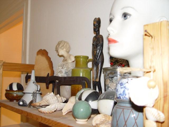 Meine Dinge in meinem zweiten Atelier im Wedding - Foto von Mike Lahl