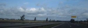 Auf der Autobahn bei Colbitz - Foto von Susanne Haun