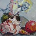 Von Links nach Rechts - 2006 - Gemälde von Susanne Haun - Acryl auf Leinwand - 30 x 40 cm - verkauft