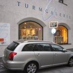 Donnerstag Nachmittag kommen wir bei der Turmgalerie an - Foto von Susanne Haun