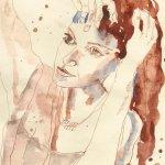 Haare richtend - Sammlung Christiane Gäbert