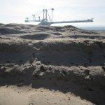 Aussichtspunkt Süd die Struktur des Sandes - Foto von Susanne Haun