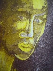 2010 Jahresgabe 2 - Aquatinta von Susanne Haun - 15 x 10 cm - 2 Platten