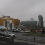 Blick vom Kulturforum Berlin zur Philharmonie und zum Potsdamer Platz - Foto von Susanne Haun