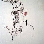Die Rinde und Rundung entsteht - Zeichnung von Susanne Haun
