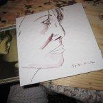Lisa Mc Neal - Zeichnung von Susanne Haun - 20 x 20 cm - Tusche auf Bütten