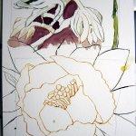 Aus den beiden Skizzen wird eine Zeichnung - Ich werde Morgen weiter daran zeichnen - Susanne Haun