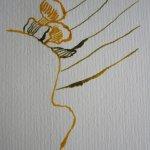 Die einzelnen Linien der Blätter muten wieder sehr abstrakt an - Susanne Haun