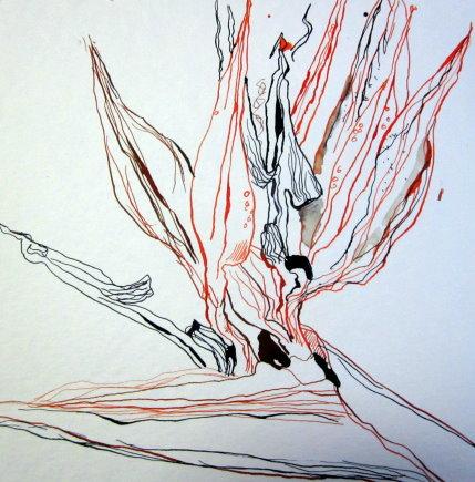 Entstehung Strilitzie - Zeichnung von Susanne Haun