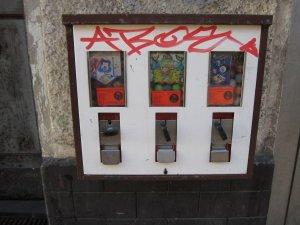 Als ich Kind war, waren die Automaten voller Kaugummis - Foto von Susanne Haun
