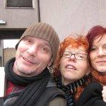 Andreas Mattern, Susanne Haun und Conny Niehoff im Wedding - Foto von Susanne Haun