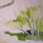 Ich mag die Bäume am Flußufer - Susanne Haun