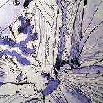 Mir ist wichtig, die Adern der Blätter und die Schatten zu zeichnen - Susann Haun