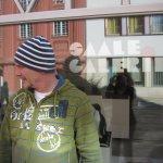 Andreas vor der Galerie in Saalfeld - Foto von Susanne Haun