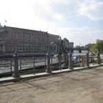 Blick vom Montbijoupark zur alten Nationalgalerie - Foto von Susanne Haun